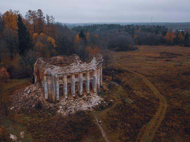 Заброшенные усадьбы петербурга и ленинградской области