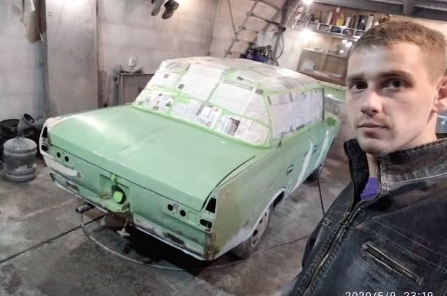 Пикап для туманного альбионачудесное возрождение фургона «москвич-434п»