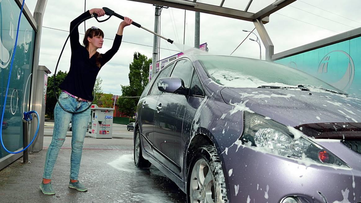Как помыть автомобиль на мойке самообслуживания за 50 рублей – основные хитрости