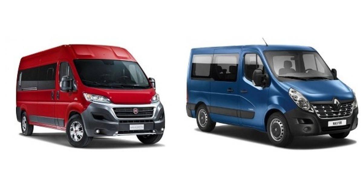 Кто тут бизнес-папа: битва Renault Master и Fiat Ducato