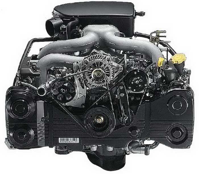 Горизонтально-оппозитный двигатель. плюсы и минусы