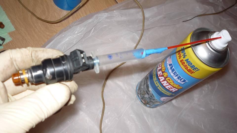 Как промыть форсунки инжектора