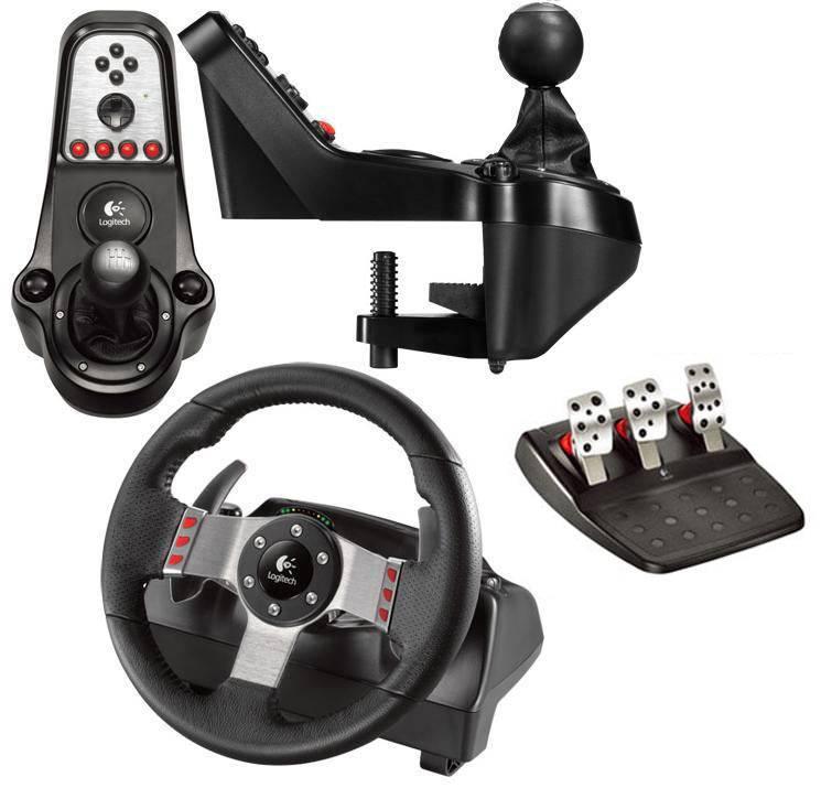 Компьютер, руль и педали. руководство по выбору джойстика-руля