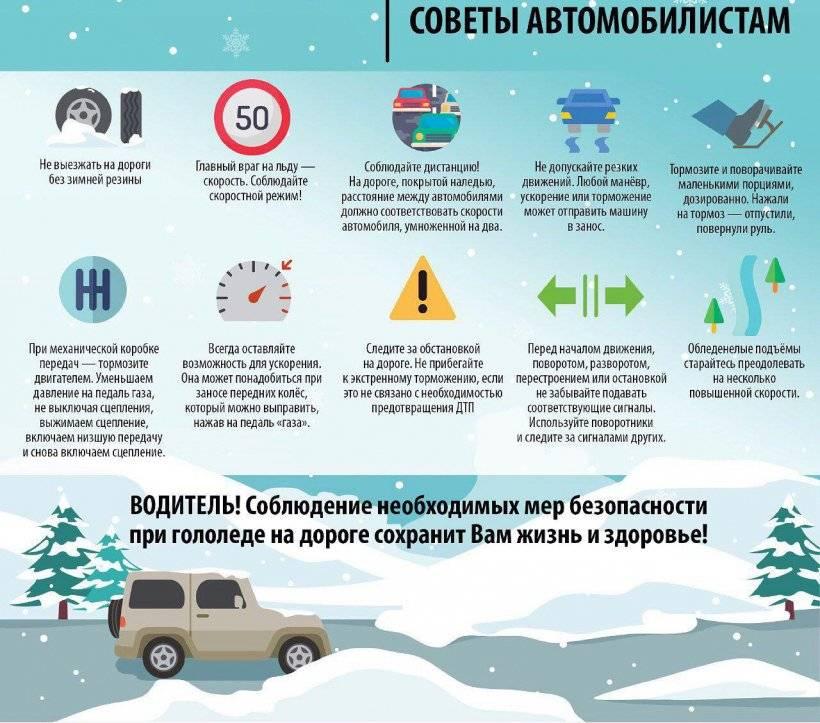 Десять простых советов улучшить езду на автомобиле зимой