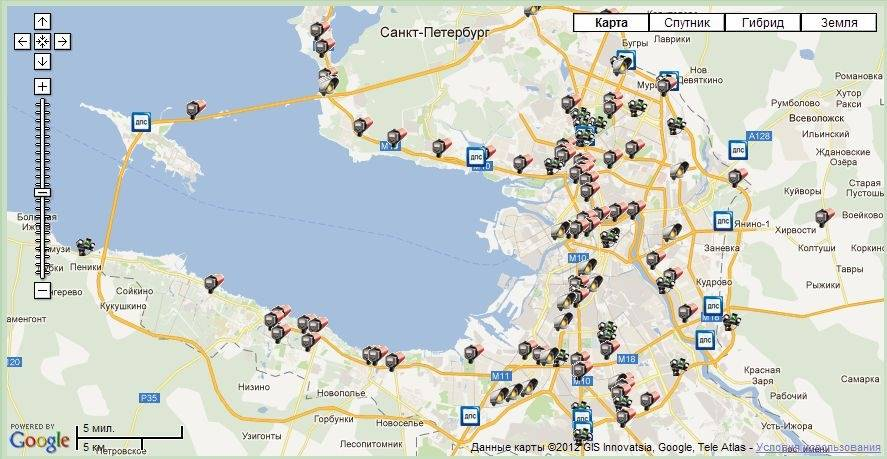 Камеры гибдд в химках на карте 2021
