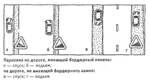 Что сначала ручник или паркинг?