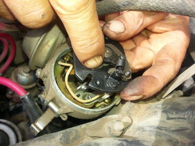 Не тянет карбюраторный двигатель автомобиля ваз