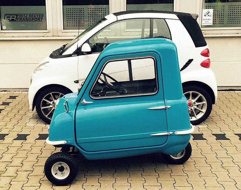 Самые маленькие автомобили в мире в 2021 году