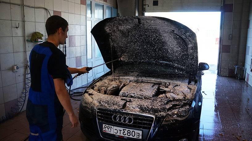 Мытье машины керхером: хитрости и секреты