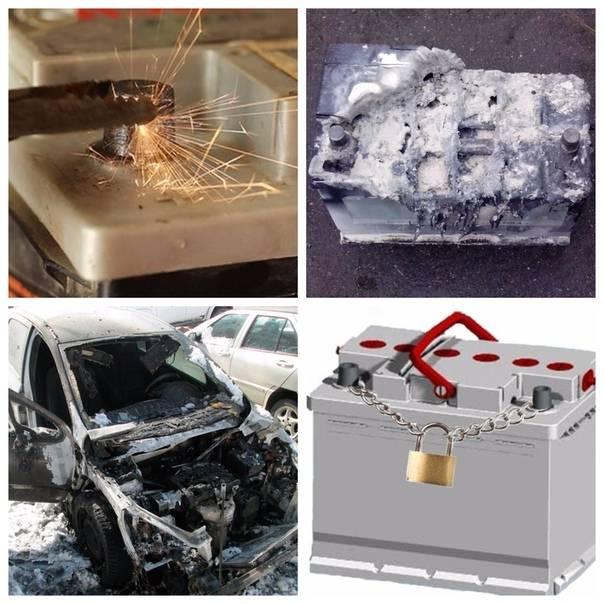 Неисправности аккумуляторных батарей (акб). неисправности аккумуляторных батарей разрушение пластин электродов