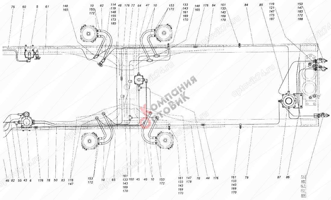 Тормозная система камаз - устройство и принцип работы. топтехник.ру