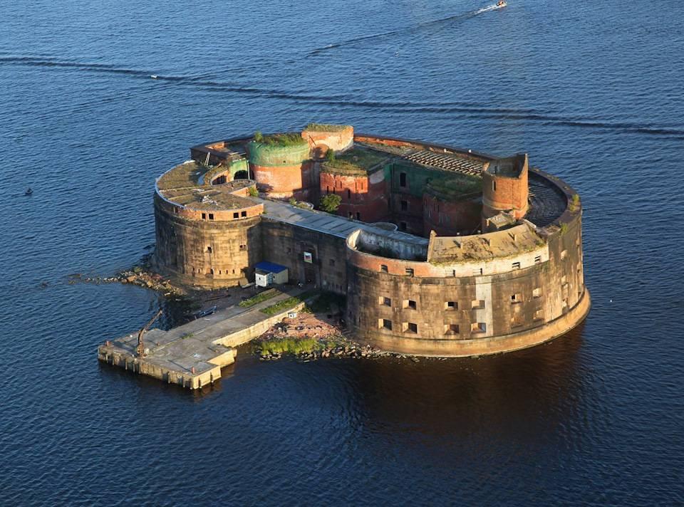 Форты кронштадта: самые интересные кронштадские форты