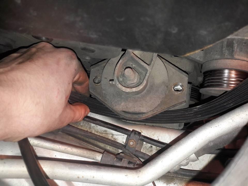 Lada priora: замена ремня привода вспомогательных агрегатов намашине скондиционером