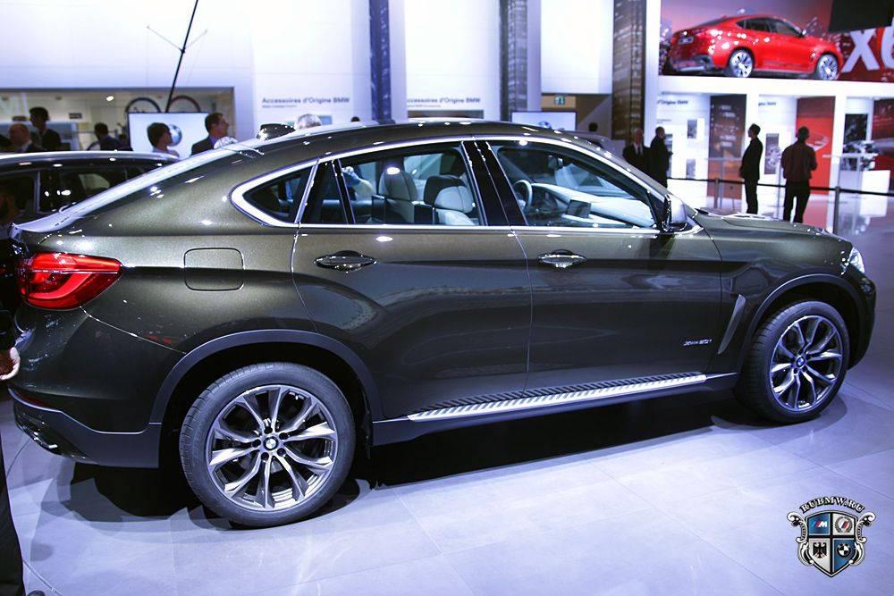 В России начал продаваться новый BMW X6