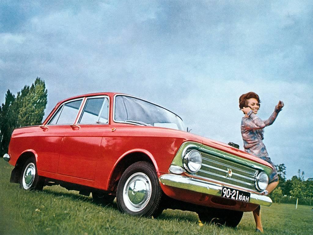 Советские автомобили, которые были популярны на западе   русская семерка