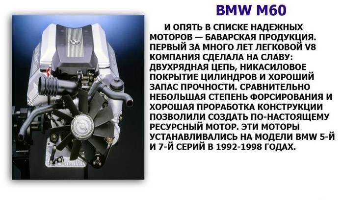 Двигатели миллионники: список автомобилей