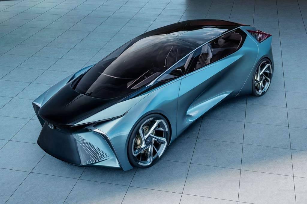Lexus представил электрический концепт