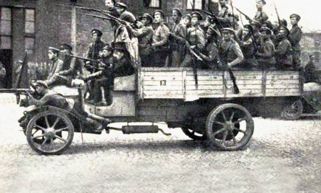Первые военные автомобили царской россии - альтернативная история