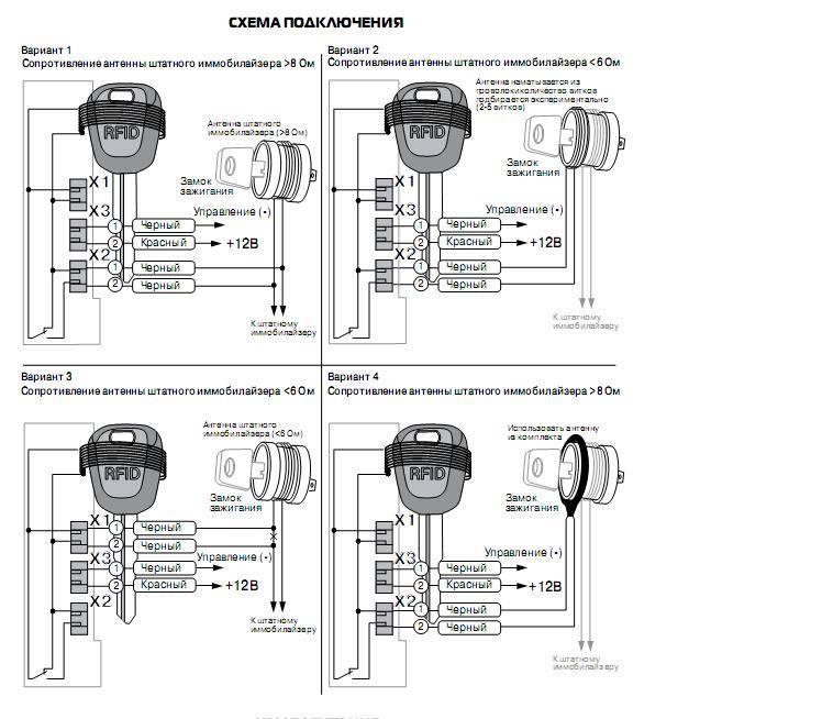 Иммобилайзер заблокирован, как запустить двигатель