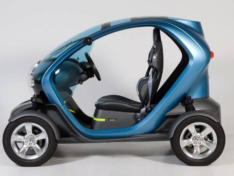 Renault показал прототип бюджетного электромобиля для развивающихся стран