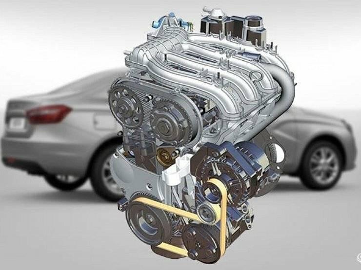 Какой двигатель стоит на лада веста: технические характеристики и его ресурс