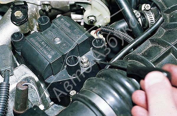 Схема подключения модуля зажигания ваз 2110 инжектор 8 клапанов