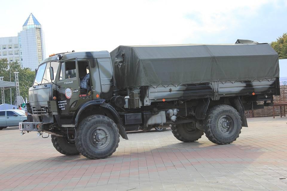 Вероятный противник: военные автомобили соединенных штатов