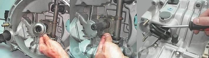 Замена вилки сцепления ваз 2110 - автомобильному мастеру