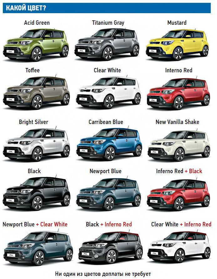 Названы три самых популярных цвета автомобилей в России