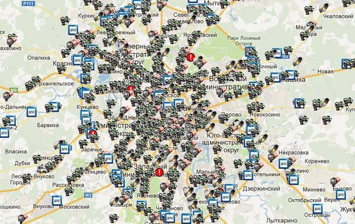 Камеры гибдд в ярославле на карте 2021