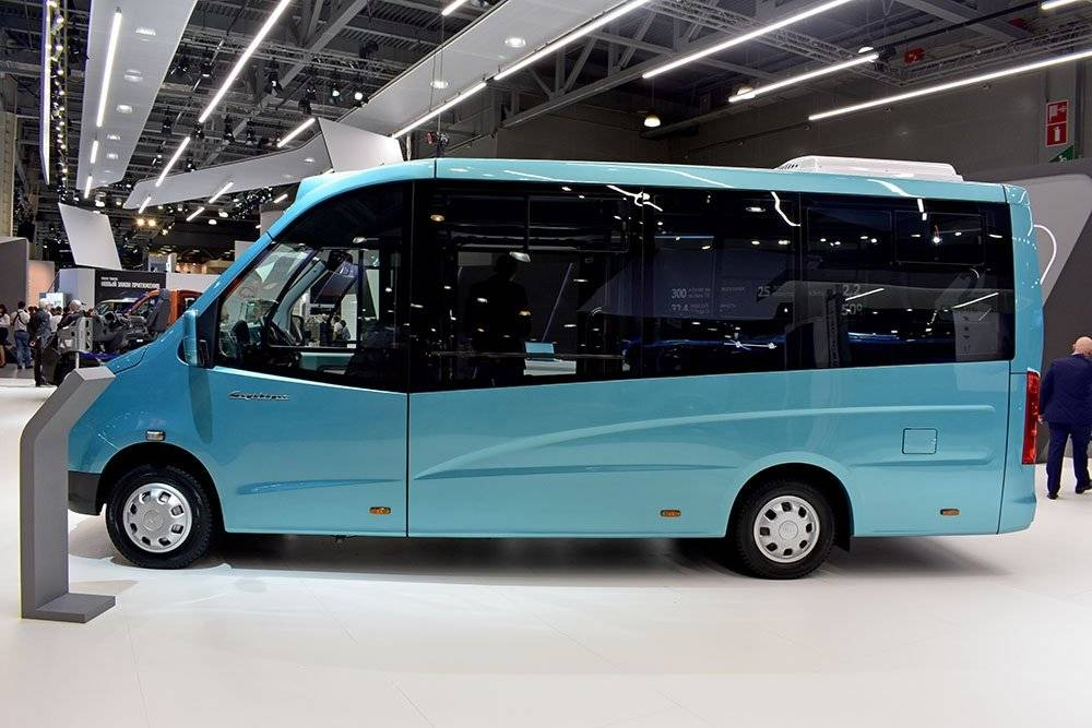 Новые каркасные автобусы на базе газели next стали серийными