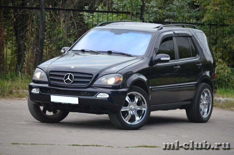 Mercedes m-class w163