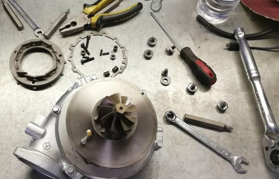 Признаки и причины неисправности турбины
