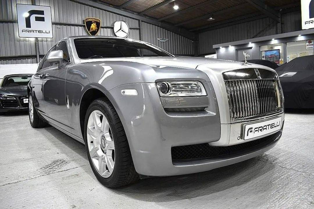 Rolls royce ghost — обзор роскошного авто