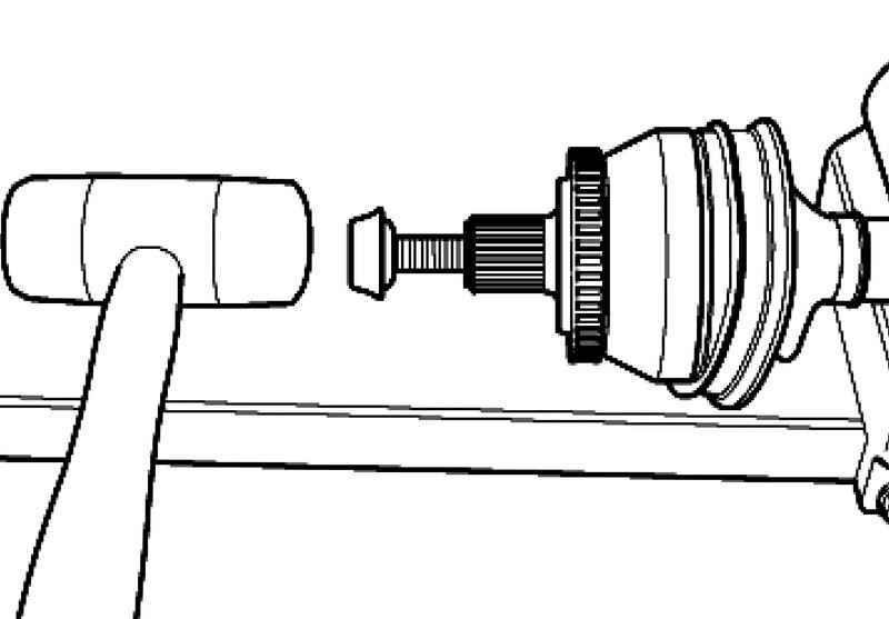 Замена шрус на audi a6 c5 с отсоединением и без отсоединения рычагов