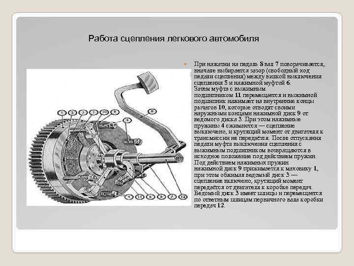Техническое обслуживание сцепления автомобиля: порядок проведения