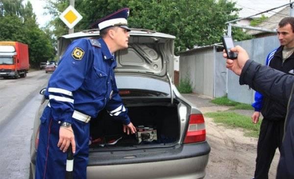 Досмотр автомобиля сотрудником дпс по новому регламенту