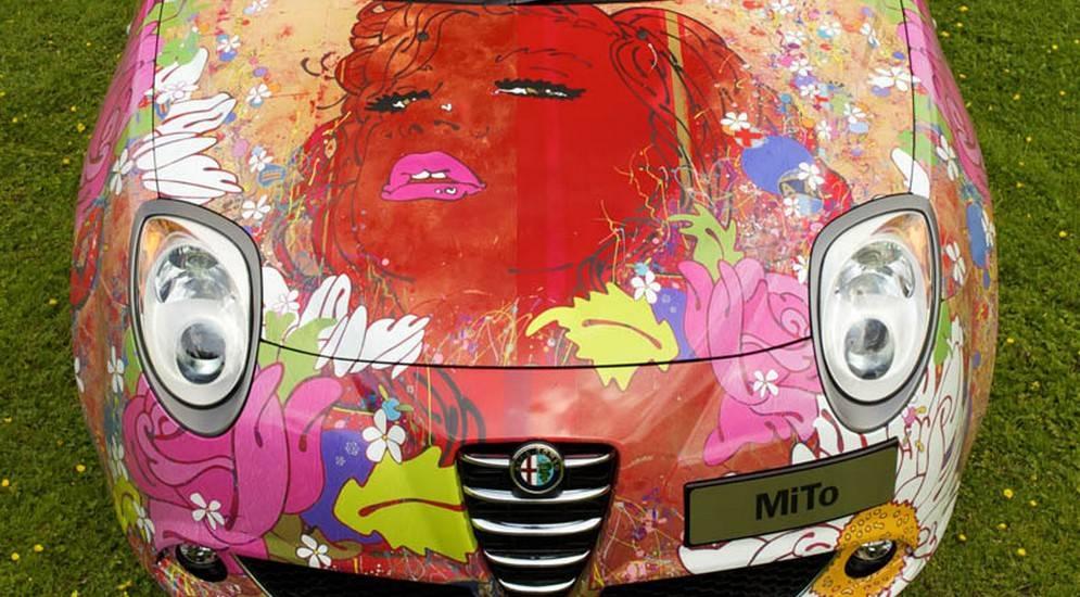 Автомобиль не роскошь, а предмет искусства | дороги мира