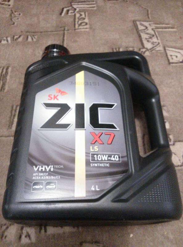 Масло zic x7 ls 10w40: характеристики, допуски, аналоги и отзывы