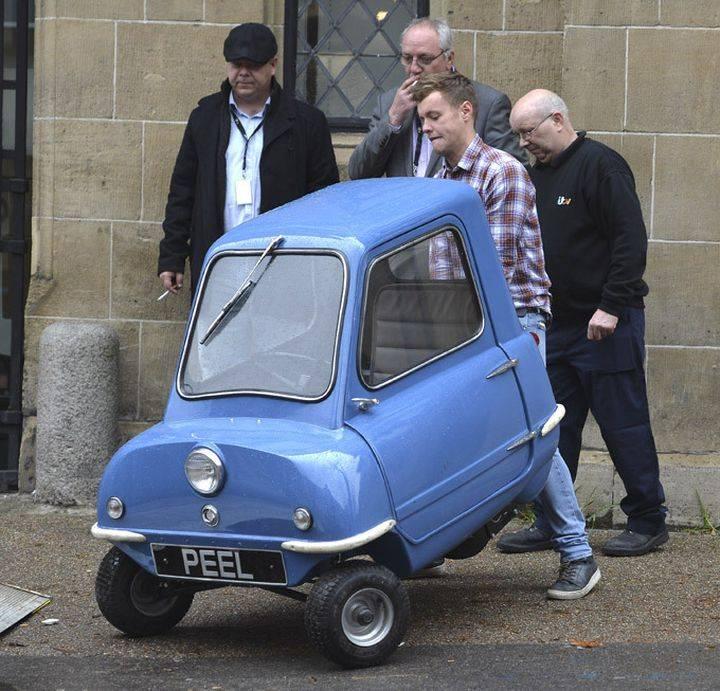 Топ-10 самых маленьких машин в мире