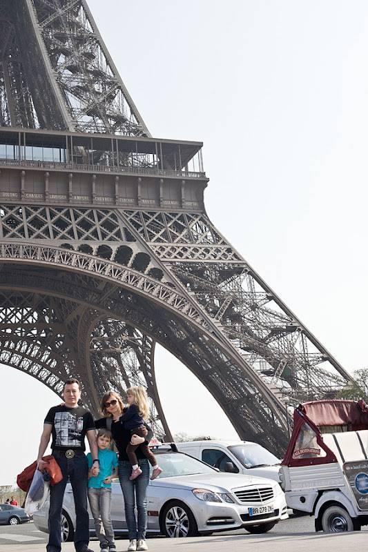 Как добраться от эйфелевой башни до... 10 мест!