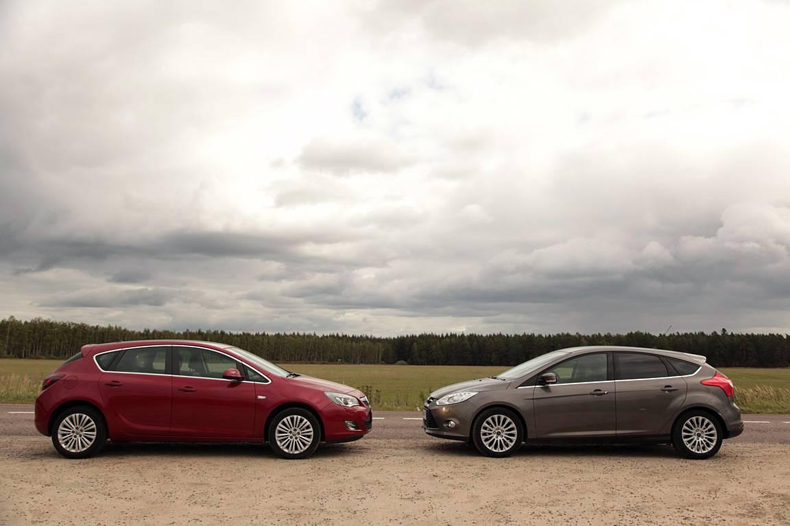 Авто для эгоиста: Opel Astra H GTC или Ford Focus II 3dr