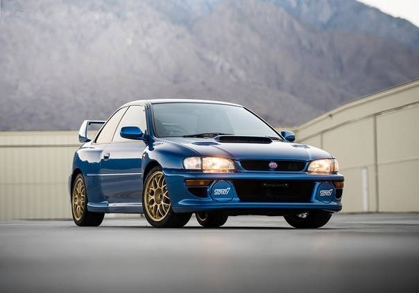 '98 subaru impreza 22b sti-version   hot wheels wiki   fandom
