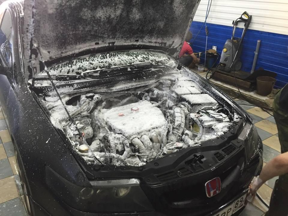 Инструкция, как помыть двигатель автомобиля