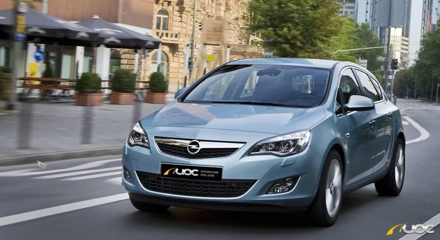 Opel astra 2016 – 2019, поколение k