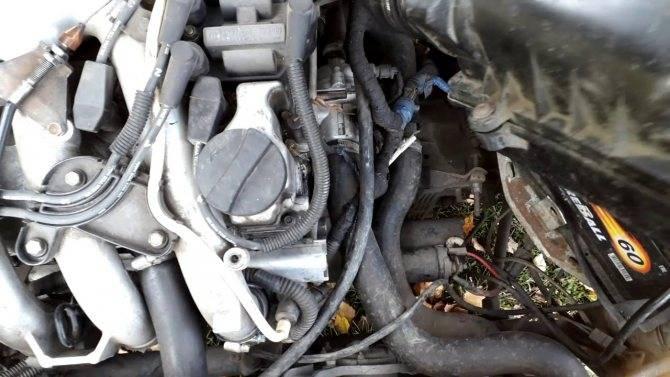 При холодном двигателе авто плохо запускается