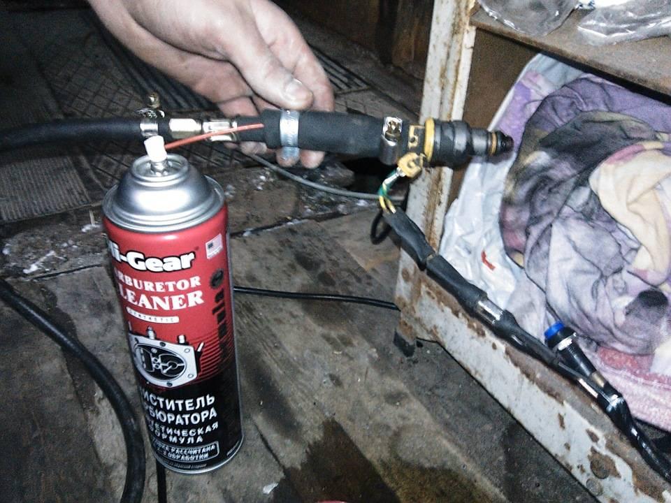Как почистить форсунки инжектора
