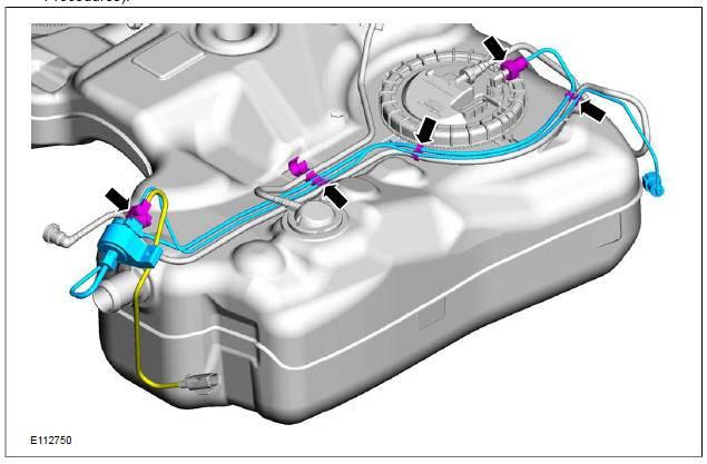 Процедура замены топливного фильтра в ford focus 1, 2 и 3