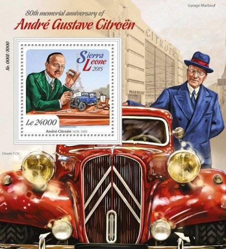 Андре ситроен - the auto belarus