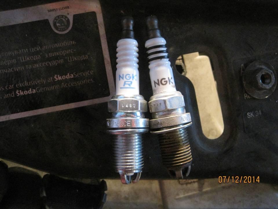 Свечи зажигания шкода кодиак 1.4 и 2.0: выбор, замена свечей